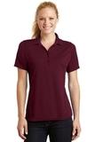 Women's Dry Zone Raglan Accent Polo Shirt Maroon Thumbnail