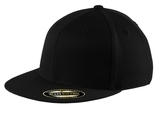 Flexfit Flat Bill Cap Black Thumbnail