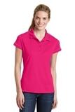 Contrast Stitch Polo Shirt Pink Raspberry Thumbnail