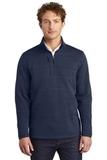 Eddie Bauer Sweater Fleece 1/4-Zip River Blue Navy Heather Thumbnail