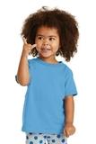 Toddler 5.4-oz 100 Cotton T-shirt Aquatic Blue Thumbnail
