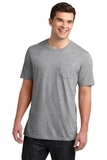 Young Men's Very Important Tee With Pocket Light Heather Grey Thumbnail