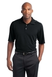 Nike Golf Dri-FIT Graphic Polo Black with Cool Grey Thumbnail