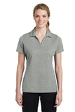 Women's Sport-Tek PosiCharge RacerMesh Polo Grey Heather Thumbnail