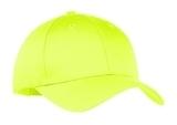 6-panel Twill Cap Neon Yellow Thumbnail