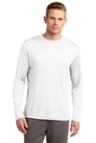 Competitor Long Sleeve Tee White Thumbnail