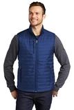 Packable Puffy Vest Cobalt Blue Thumbnail
