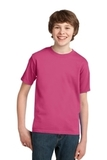 Youth Essential T-shirt Sangria Thumbnail