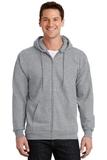 Full-zip Hooded Sweatshirt Athletic Heather Thumbnail