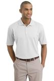 Nike Golf Shirt Dri-FIT Textured Polo White Thumbnail