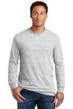 Heavy Cotton 100 Cotton Long Sleeve T-shirt Ash Thumbnail