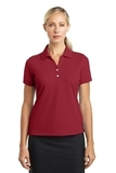 Women's Nike Golf Shirt Dri-fit Classic Varsity Red Thumbnail
