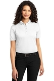Women's Dry Zone Ottoman Polo Shirt White Thumbnail