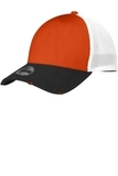 Era Vintage Mesh Cap Black with Deep Orange and White Thumbnail