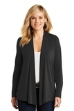 Women's Concept Knit Cardigan Black Thumbnail