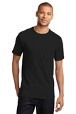 100 Cotton T-shirt With Pocket Jet Black Thumbnail