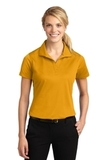 Women's Micropique Moisture Wicking Polo Shirt Gold Thumbnail