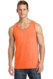 5.4 oz. 100% Cotton Tank Top Neon Orange Thumbnail
