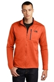 The North Face Skyline Full-Zip Fleece Jacket Zion Orange Heather with Urban Navy Thumbnail
