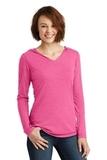 Women's Perfect Tri-Long Sleeve Hoodie Fuchsia Frost Thumbnail