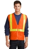Safety Vest Safety Orange with Reflective Thumbnail