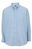Men's Dress Button Down Oxford LS Blue Thumbnail