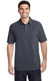 Port Authority Digi Heather Performance Polo Dark Grey Thumbnail