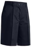 Women's Plain Front Chino Short Navy Thumbnail