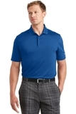 Nike Golf Dri-FIT Players Polo with Flat Knit Collar Gym Blue Thumbnail