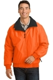 Safety Challenger Jacket Safety Orange with Black Thumbnail