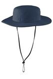 Outdoor Wide-Brim Hat Dress Blue Navy Thumbnail