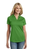 Women's Diamond Jacquard Polo Vine Green Thumbnail