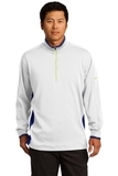 Nike Golf Dri-Fit 1/2-Zip Cover-up White with Deep Royal and Volt Thumbnail
