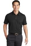 Nike Golf Dri-FIT Solid Icon Pique Modern Fit Polo Black Thumbnail