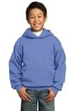 Youth Pullover Hooded Sweatshirt Carolina Blue Thumbnail