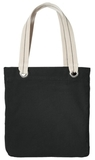 Allie Tote Black with Charcoal Thumbnail