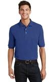 Pique Knit Polo Shirt With Pocket Royal Thumbnail