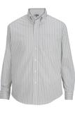 Edwards Men's Double Stripe Dress Poplin Shirt Vintage Khaki Thumbnail