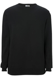 Edwards Crew Neck Cotton Blend Sweater Black Thumbnail