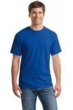 Heavy Cotton 100 Cotton T-shirt Royal Thumbnail