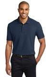 Stain-resistant Polo Shirt Navy Thumbnail