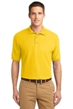 Extended Size Silk Touch Polo Shirt Sunflower Yellow Thumbnail