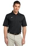 Nike Golf Shirt Dri-FIT Sport Swoosh Pique Black Thumbnail