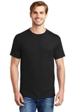 Beefy-t 100 Cotton T-shirt With Pocket Black Thumbnail