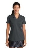 Women's Nike Golf Shirt Dri-FIT Micro Pique Polo Shirt Anthracite Thumbnail
