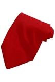 Men's Solid Color Tie Red Thumbnail