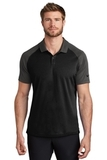 Nike Dry Raglan Polo Black with Anthracite Thumbnail
