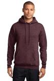 7.8-oz Pullover Hooded Sweatshirt Heather Athletic Maroon Thumbnail