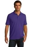 Port Company Tall 5.5-ounce Jersey Knit Polo Purple Thumbnail