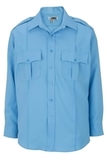 Class A 100 Polyester Long Sleeve Shirt Blue Thumbnail